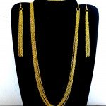 Parure de chaînes dorées, 3 pièces  dans parures p1040731-150x150